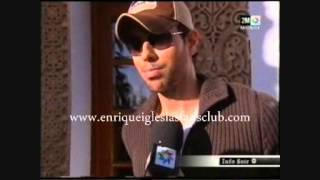 ENRIQUE IGLESIAS INTERVIEW MOROCCO MAWAZINE TONIGHT I  LIKE HOW IT FEELS ENTREVISTA MARRUECOS