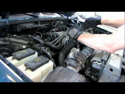 Ford Ranger   V Replace Alternator And Serpentine Belt