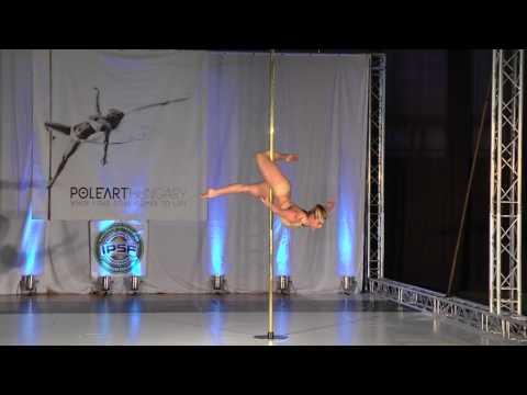 PoleArt Hungary - IPSF Artistic 2017 - Heni Kővágó  - Amateur Category - 1. place
