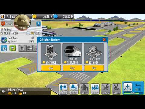 Air Tycoon 4 Gameplay - Android - S6 EDGE