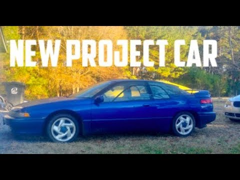 BIG PLANS FOR THE SUBARU SVX!
