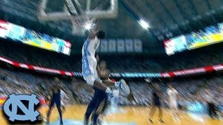 UNC's Nassir Little Dunks After Exploding To The Rim