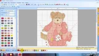 Программа PC Stitch Pro 10 - первая сборка январь 2014