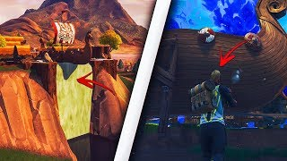 *NEW* GET INSIDE THE SECRET WATERFALL USING THIS INSANE GLITCH - SEASON 5 FORTNITE GLITCHES