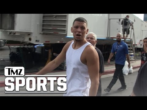 Nate Diaz- Locked, Loaded and Super Cocky!!! | TMZ Sports