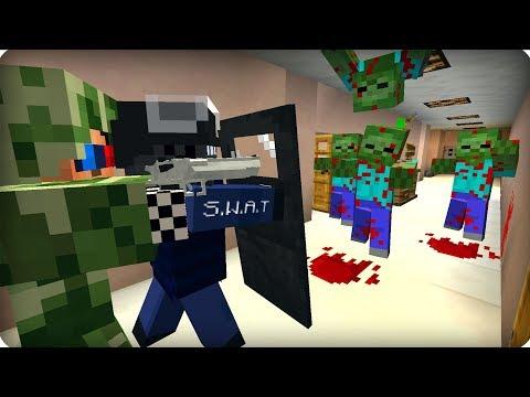 Пытаемся вырваться из школы [ЧАСТЬ 28] Зомби апокалипсис в майнкрафт! - (Minecraft - Сериал)