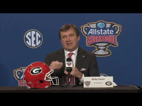 Kirby Smart Sugar Bowl Press Conference