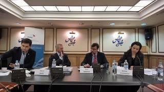 Круглый стол с Оливером Гнадом по обсуждению будущего отношений России и ЕС