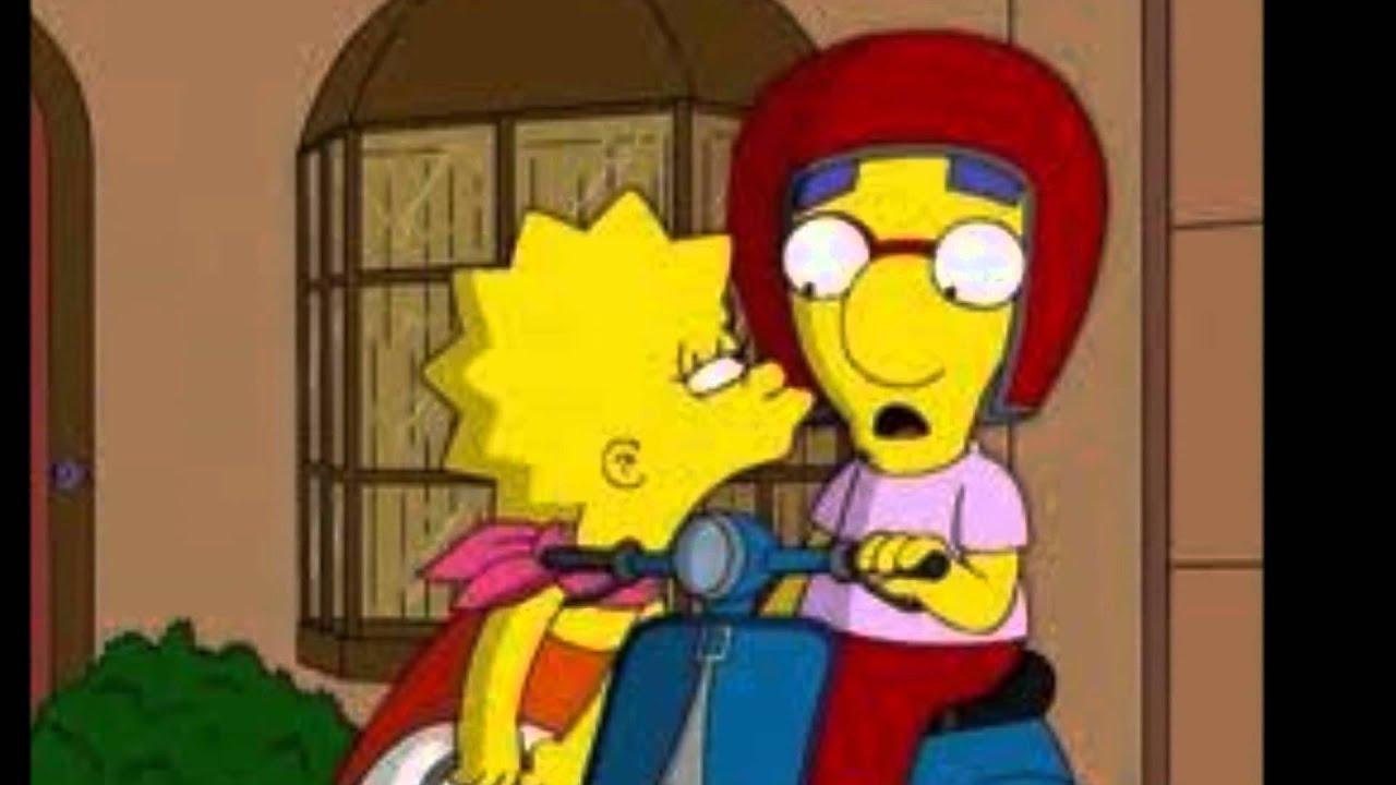 Lisa y Bart Simpson se lo follan