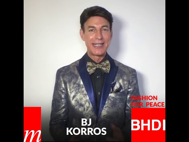 Watch BJ Korro's message on Fashion for Peace