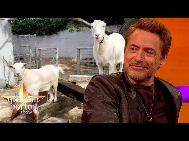Robert Downey Jr.'s Sexually Active Gay Goats | The Graham Norton Show