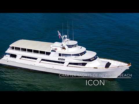 Charter Yachts of Newport Beach - ICON yacht