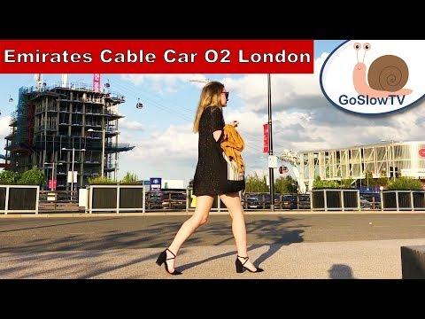 Emirates Air Line Cable Car | London Landmarks | UK | England | Slow TV | Episode 4 | By GoSlowTV