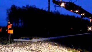 Ночной ремонт ЖД полотна - замена пути(, 2011-10-26T13:00:22.000Z)