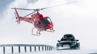 Jon Olsson's Audi RS6 DTM Attacks the Snow