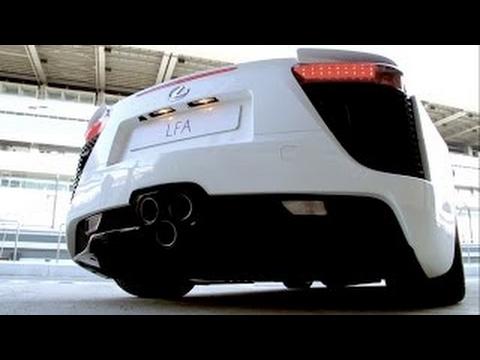 Первый в рунете тест драйв суперкара LEXUS LFA (560 л.с.), спорт седана GS F и купе RC F!