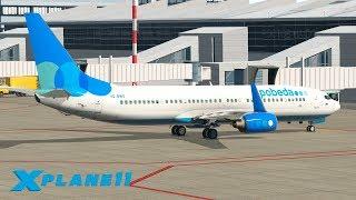 СТРИМ НЕБО РОССИИ! / URRR (Ростов) - UUWW / ZIBOMOD BOEING 737 | X-Plane 11 #9