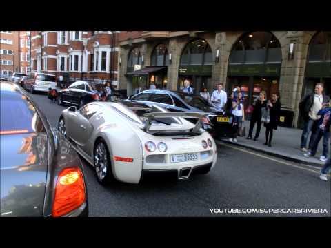 Amazing Supercars Of London - Summer 2014