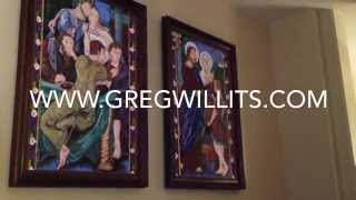Wedding Feast of Cana 2-Part Acrylic Paintings