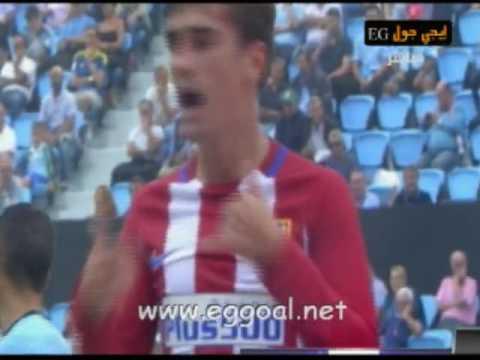 اهداف مباراة سيلتا فيجو و أتلتيكو مدريد 0-4 | الدورى الاسبانى 10-9-2016 celta de vigo vs atletico madrid
