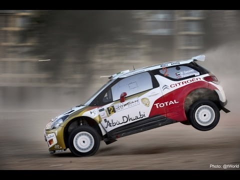 Citroën Total Abu Dhabi Rally Team, SSS - Jordan Rally 2014