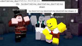 Dont let me down || A roblox fan music video || The chainsmokers
