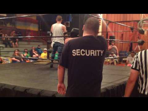 Falls Count Anywhere Street Fight- Cash Borden vs Cole James