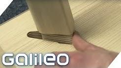 Stecken statt schrauben: Ikea revolutioniert den Möbel-Aufbau | Galileo | ProSieben