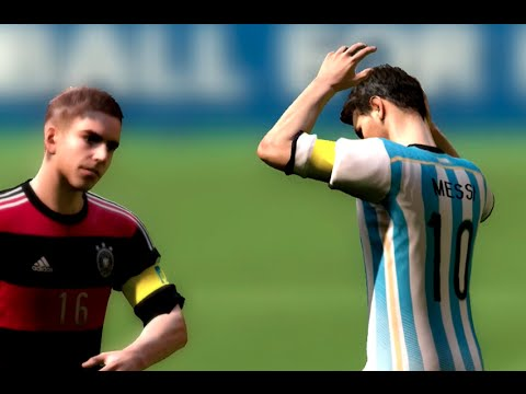 FIFA World Cup 2014: Argentina vs Germany Final Simulation EA FIFA World Cup 2014 Brazil