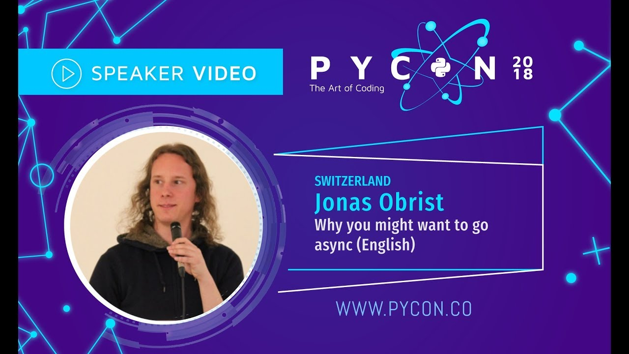 Image from Jonas Obrist - Why you might want to go async? - PyCon Colombia 2018