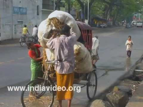 City life in Assam India