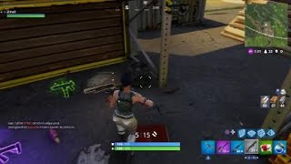 Fortnite Bug where is my AR going?