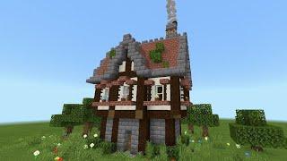 ⛏️Tutorial casa medieval Tutorial Minecraft construção