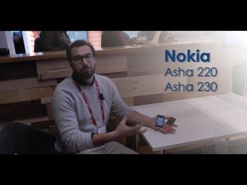 Nokia 220 e Nokia Asha 230 preview dal MWC 2014 da HDblog.it