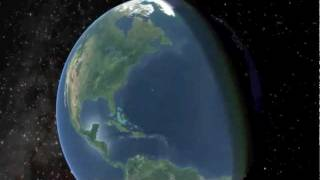 Visualize Astronomy: 3D View of the Earth Moon System