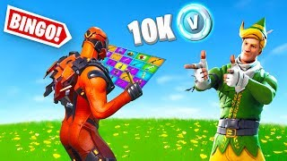10k V-Buck Fortnite Battle *BINGO* 1v1 w/ Lachlan!