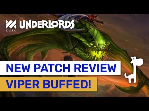 Viper Buffed!! Savage Changes & New Patch Review! | Dota Underlords