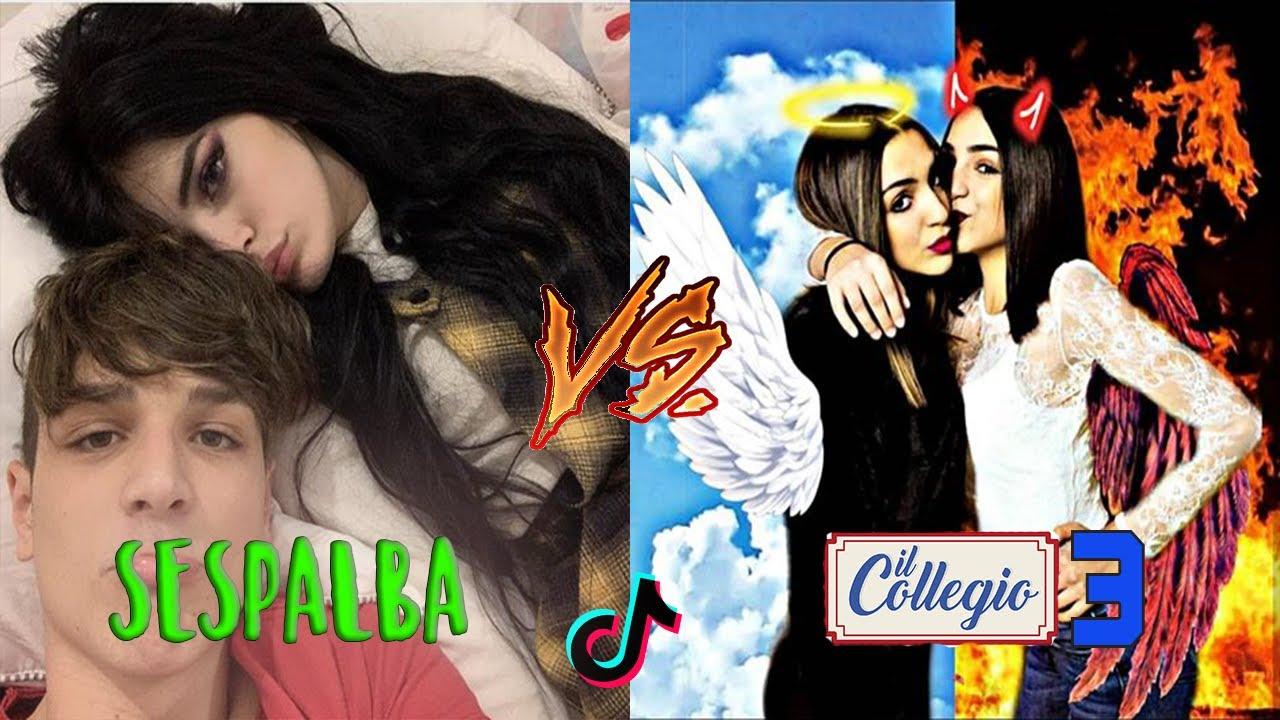 TikTok Il COLLEGIO vs SESPO e ROSALBA!!! Musically Battle