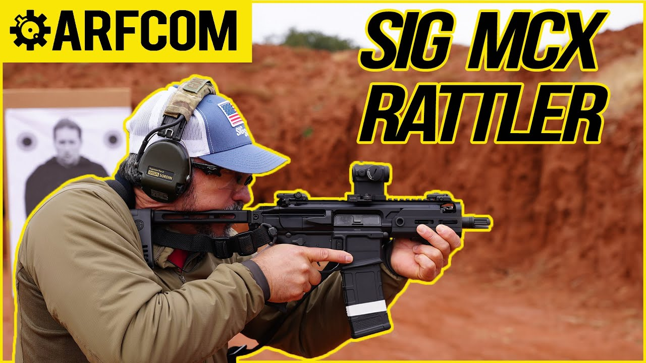 SIG MCX Rattler - First Impressions w/ Navy SEAL Jeff Gonzales