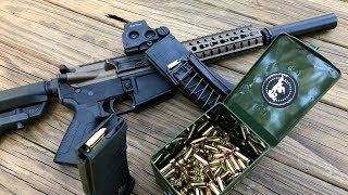 Shoot 9mm with your mil-spec AR Lower!  CMMG 9 AR Conversion Magazines