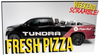 WS - Pizza Cooks in Truck While Being Delivered!? ft. Stephanie Soo & DavidSoComedy