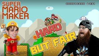 HARD, but fair... EDUARDO BENVENUTI's Advice! - Super Mario Maker - CREATOR SHOWCASE