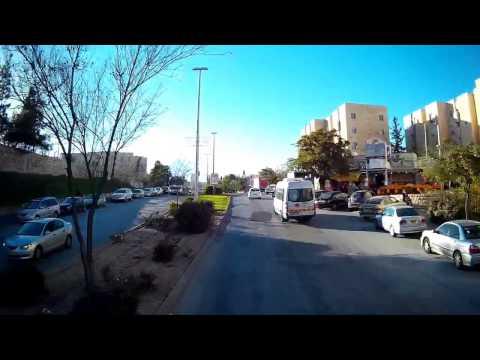 Jerusalem City Tour by Double decker bus  Israel סובו ציון והקיפוה  קו 99 בירושלים באוטובוס קומותיים