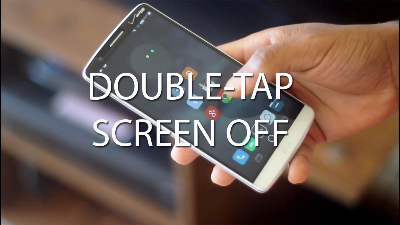 Resultado de imagen de Double Tap Screen On and Off