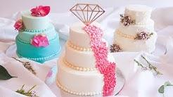 Cute MINI elegant WEDDING CAKES- Rosie's Dessert Spot