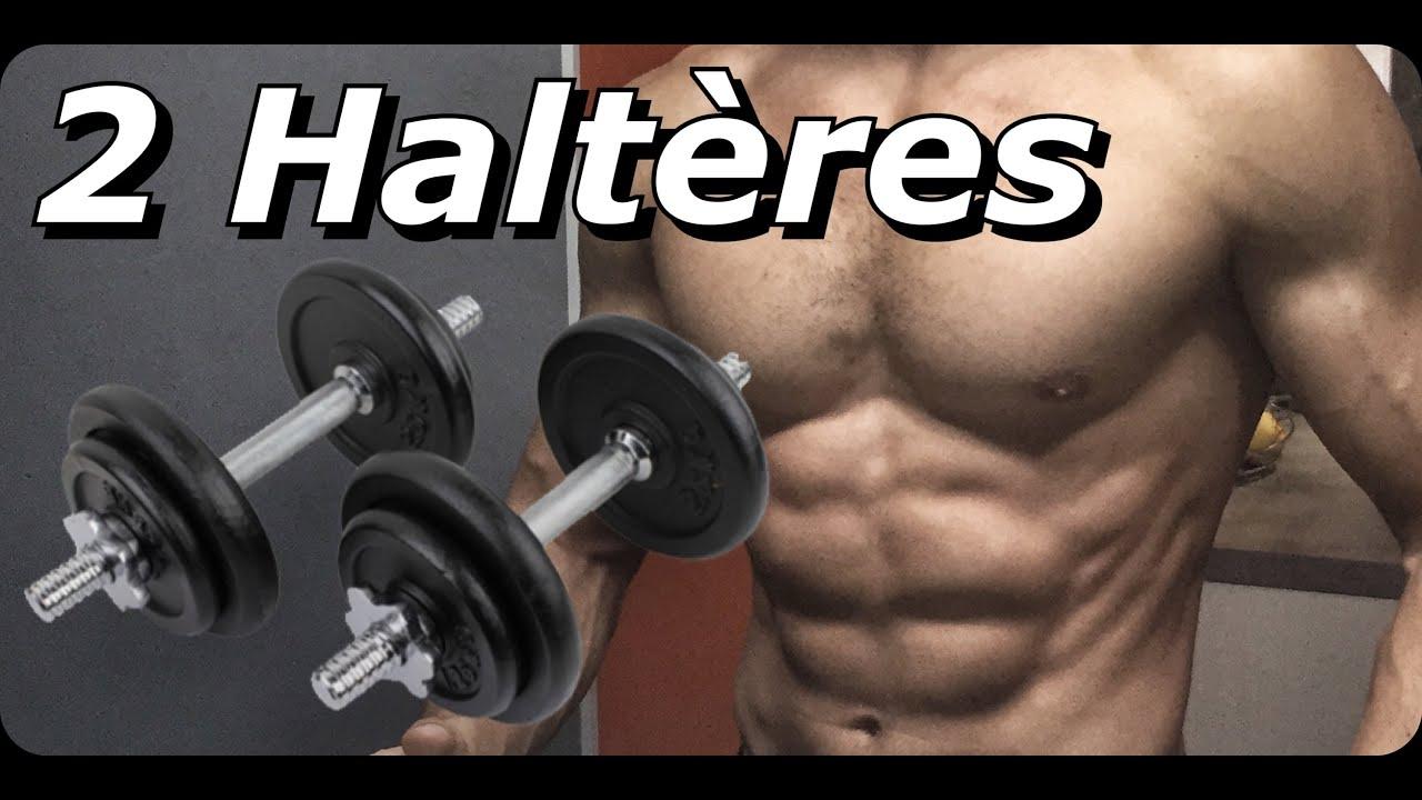 haltere musculation masse
