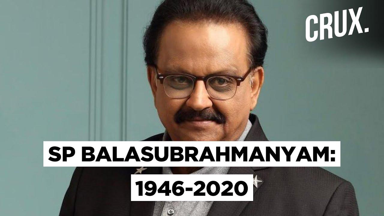 Veteran singer SP Balasubrahmanyam succumbs to covid-19