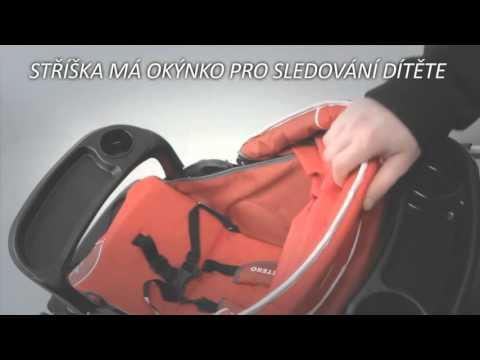 Golfový kočárek CARETERO Monaco - složení kočarku - instruktážní video návod