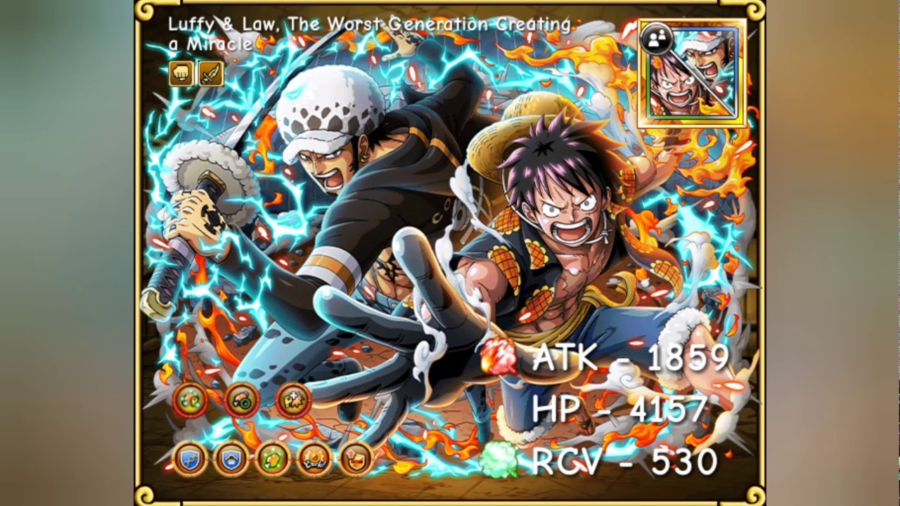 new release official supplier huge discount Luffy et Law