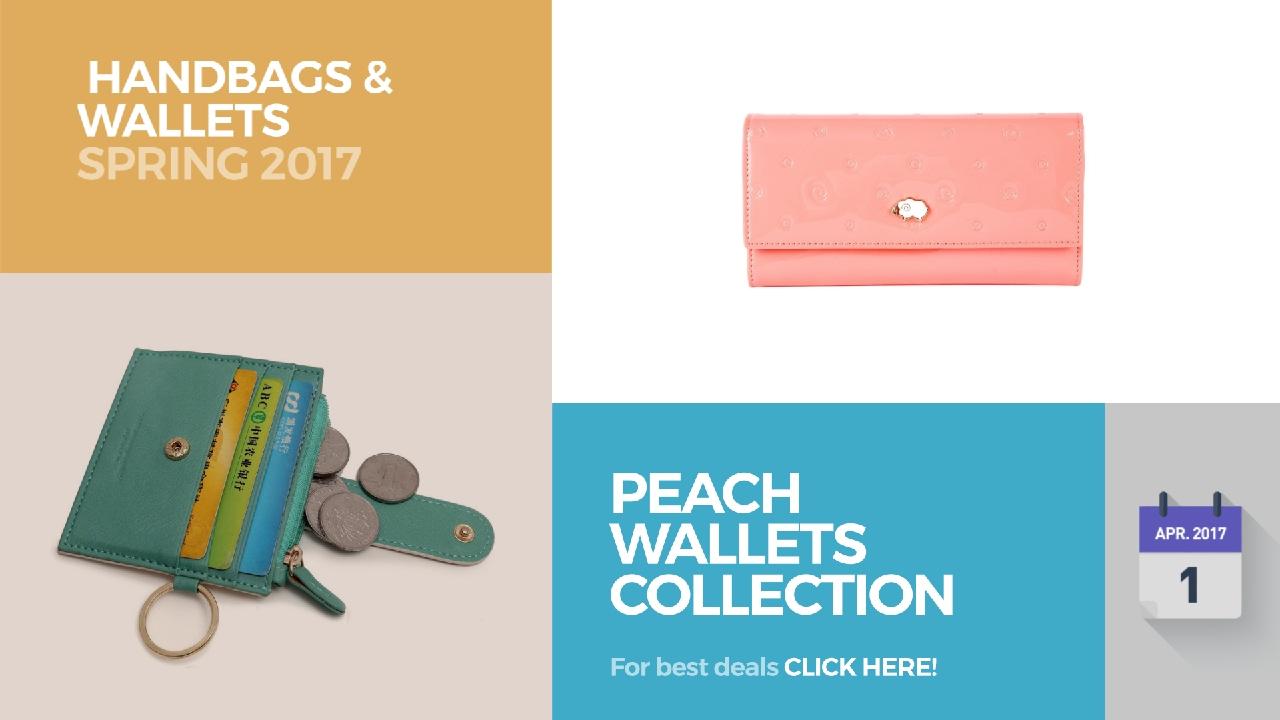 c7780a64585e Peach Wallets Collection Handbags & Wallets Spring 2017